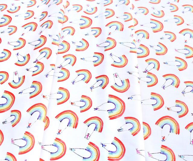 Windham Fabrics Rain or Shine 51647-X Rainbow Swing