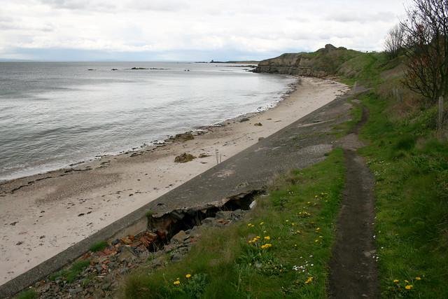 The coast near Elie