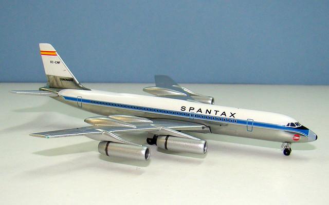 Spantax Convair CV-990-30-A-6 EC-CNF