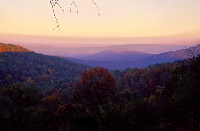 Sunset View From Monte Sano