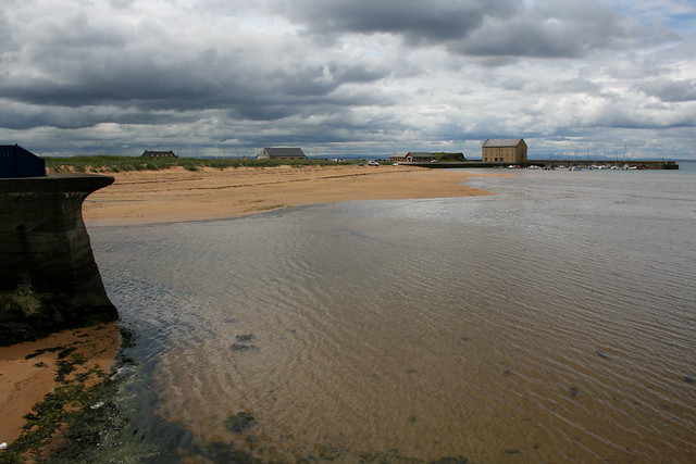 The coast at Elie