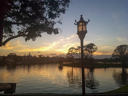 sunset epcot