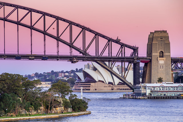 Pastel Harbour Bridge