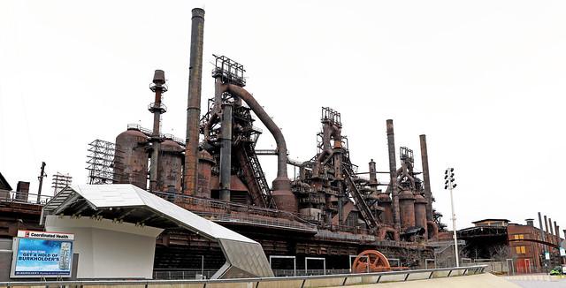 Former Bethlehem Steel Blast Furnaces