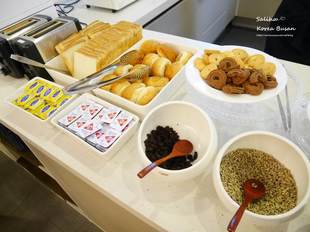 韓國釜山旅行自由行程推薦西面棕色點點商務飯店早餐Browndot Business Seomyeon (4)