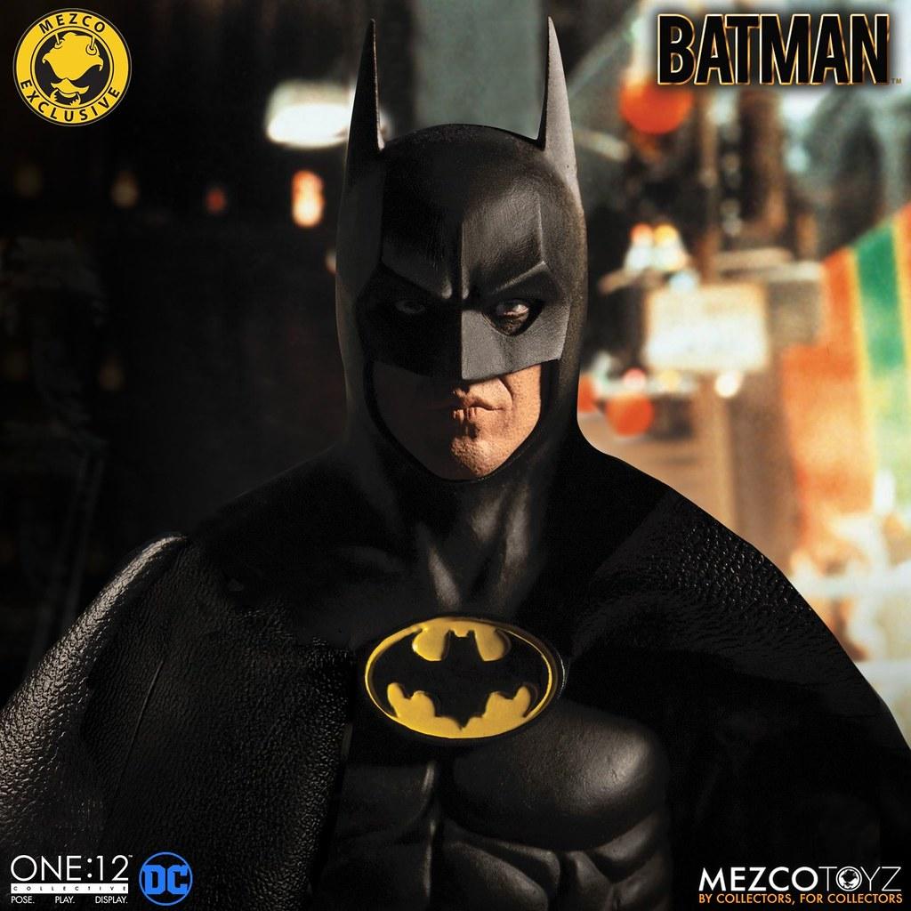 米高·基頓的招牌翹唇又來了!Mezco ONE:12 COLLECTIVE系列《蝙蝠俠》1989年版(Batman 1989 Edition)1/12 比例人偶作品