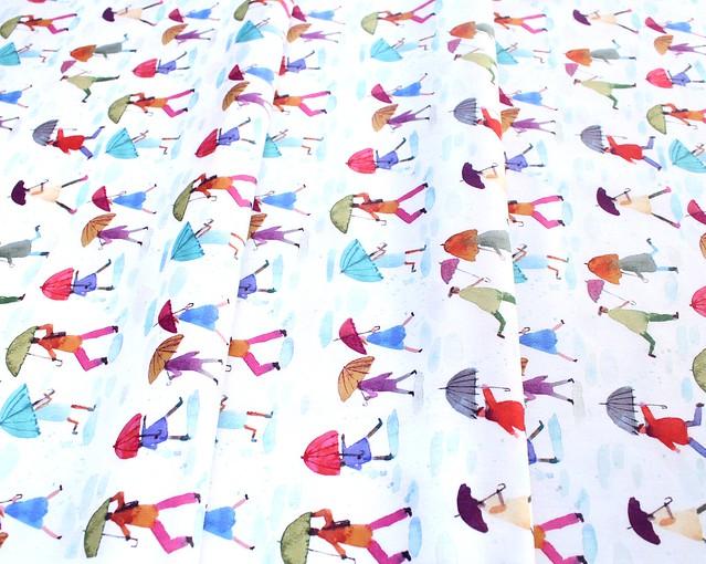 Windham Fabrics Rain or Shine 51646-X Puddle Jumping