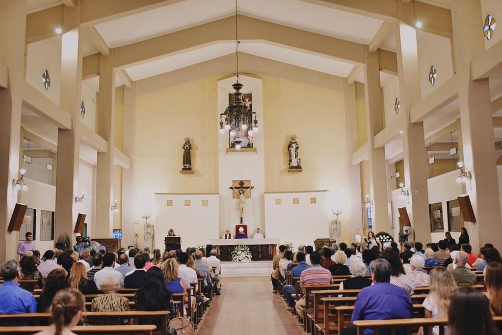 En la iglesia de Santo Domingo se recordó a las víctimas del terremoto de enero de 1944 (5)