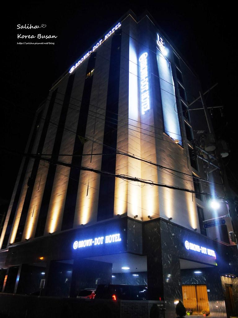 韓國釜山自由行飯店住宿推薦西面棕色點點商務飯店Browndot Business Seomyeon (3)