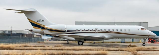 VH-LZP Bombardier Global Express 9007 KDAL