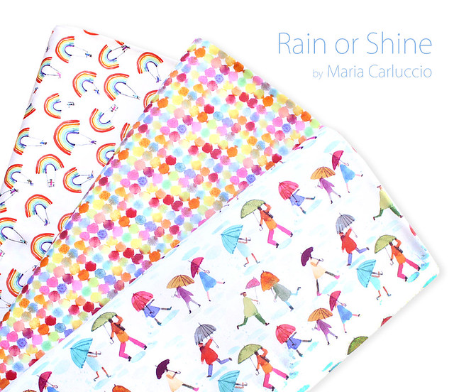 Windham Fabrics Rain or Shine Collection by Maria Carluccio