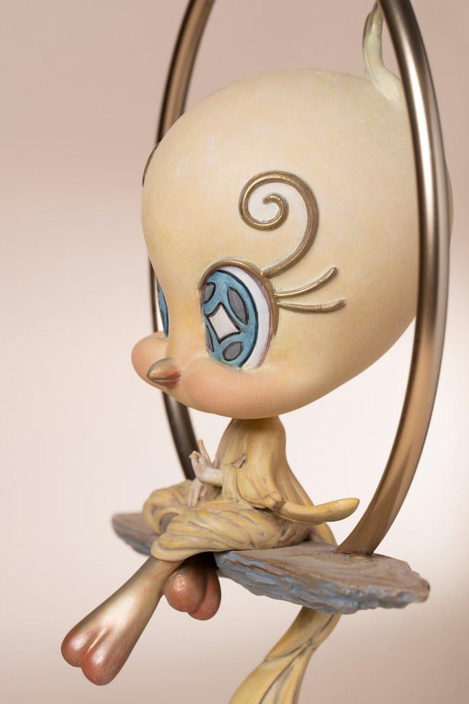 變身充滿禪意的神鳥鳳凰~Soap Studio x 藝術家 Tik Ka from East「自在崔弟」雕像(Free Tweety)