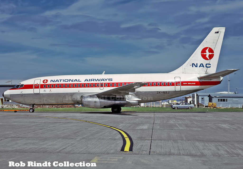 National Airways Corporation B737-297 ZK-NAJ