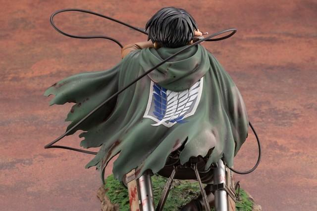 壽屋《進擊的巨人》里維.阿卡曼(リヴァイ・アッカーマン)PVC塗裝完成品 上色原型公開!