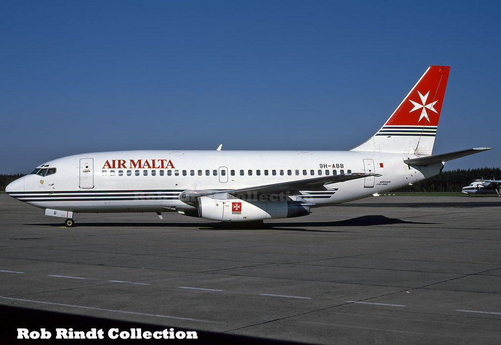 Air Malta B737-2Y5/Advanced 9H-ABB