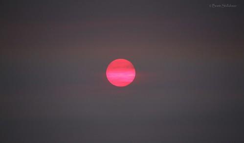 southaustralia smoke bushfire sunset summer sun