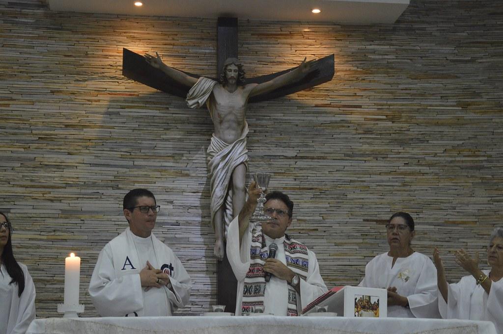 No dia 15 de janeiro celebramos a solenidade de Santo Arnaldo Janssen, a missa ao nível paroquial foi celebrada na comunidade nossa senhora da conceição.  Celebrantes: Pe. Sérgio e Pe. Antônio Registros: João Lucas