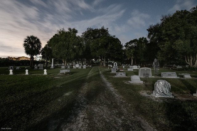 A Ghost in the Graveyard