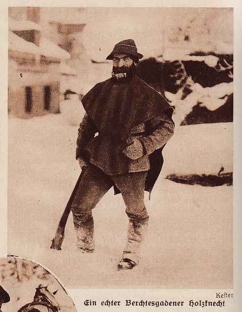 A Bavarian logger 1927