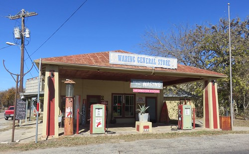 Old Waring General Store and Post Office 78074 (Waring, Texas)