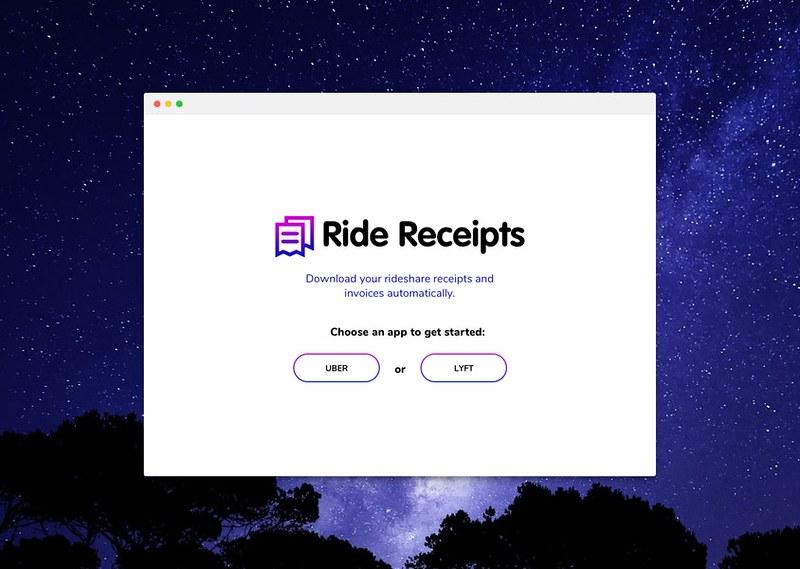 Ride Receipts