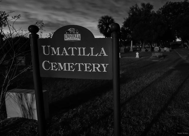 The Haunted Umatilla Cemetery
