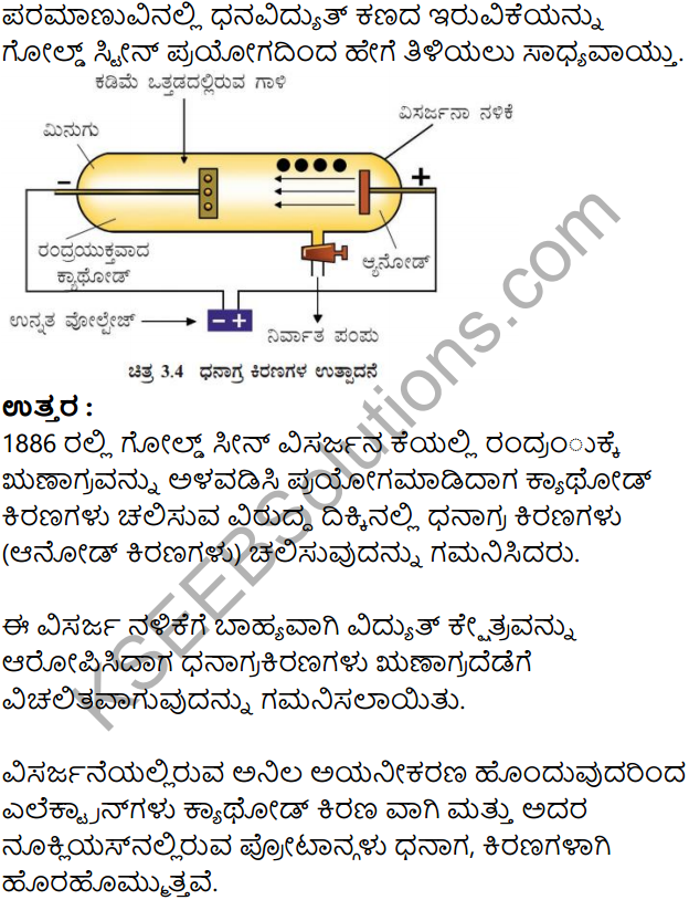 KSEEB Solutions for Class 8 Science Chapter 3 Paramanuvina Rachane in Kannada 16