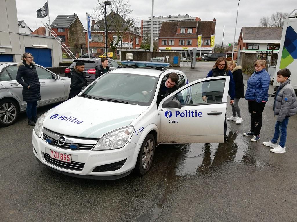 OB3 Politiebezoek