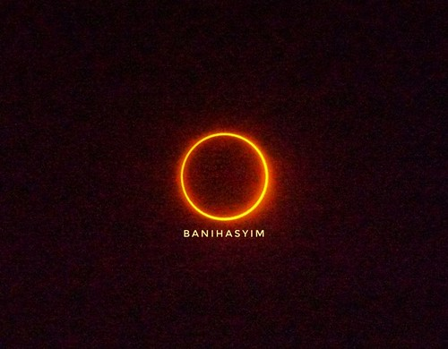The Ring Eclipse Annular on 26 December 2019 #eclipseannular2019