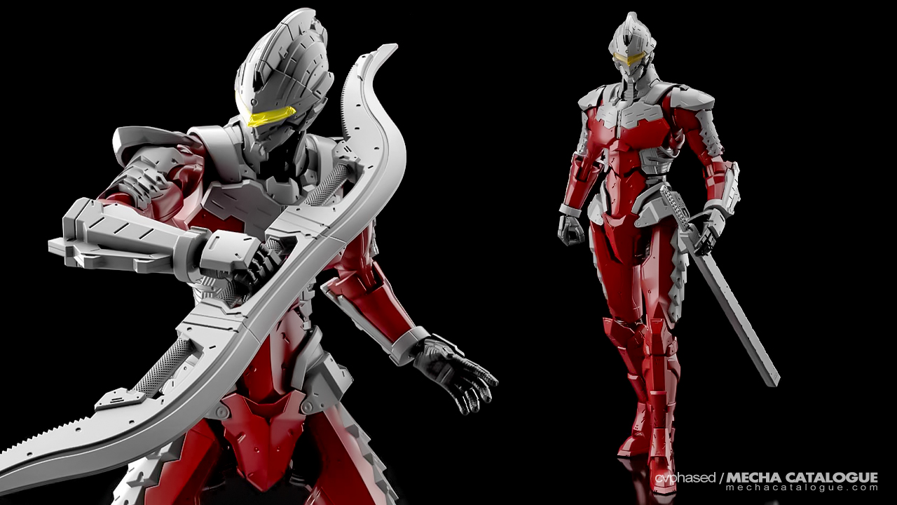 "Yet Another Dilemma: Figure-rise Standard ""ULTRAMAN"" -Action- Kits"