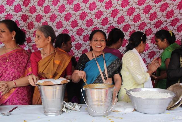 15th Jan 2020 Prasad Distributions by ISKCON Juhu Devotees on Makar Sakrantri day
