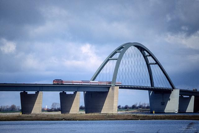 234 auf der Fehmarnsundbrücke