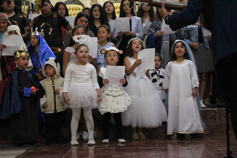 Velada Navideña en iglesia de Lirquén