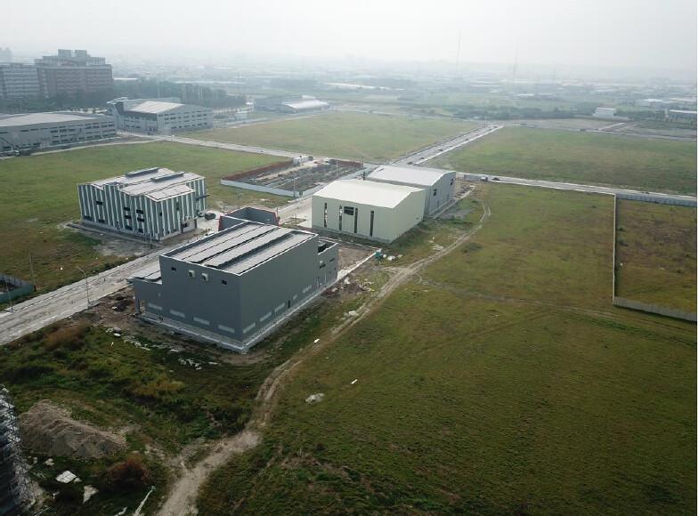 和發產業園區和春基地東北側現況。擷取自環評書建