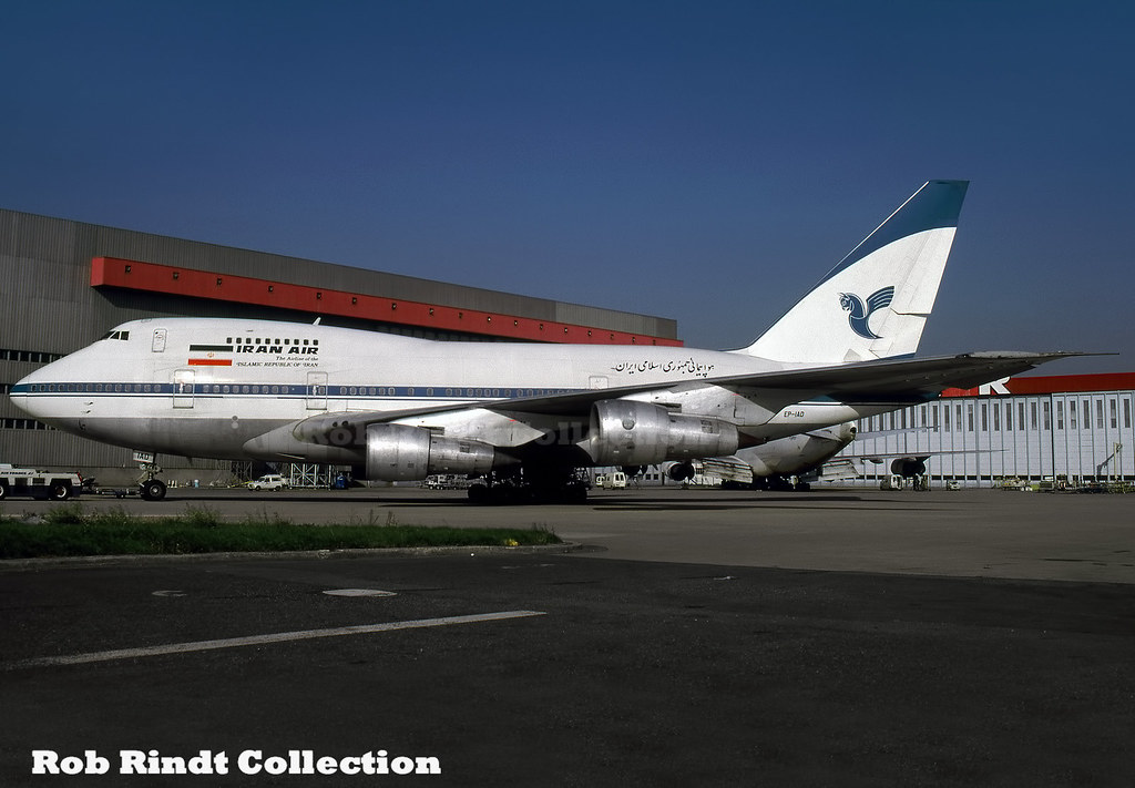 Iran Air B747SP-86 EP-IAD
