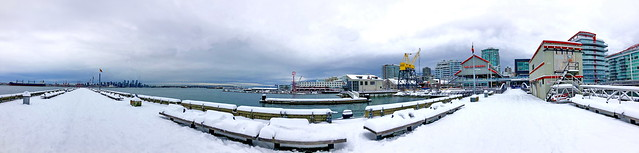 A snowy waterfront winter series (+8)