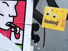 👀 #sticker #streetart #urbanart  (由  Raubzug