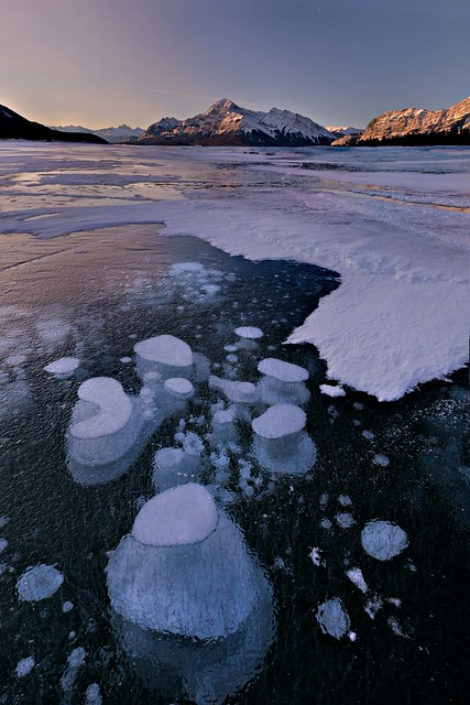 Bubble Dream , Abraham Lake