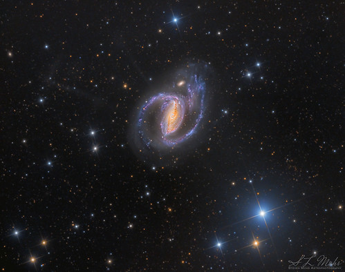 NGC1097 | Barred Spiral Galaxy | Mysterious Tidal Remnants | LRGB