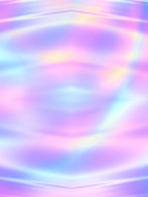 Holographic art phone wallpaper