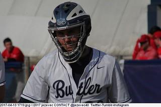 2017-04-13 1719 College Baseball - StJohns at Butler
