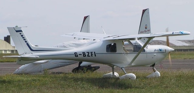 G-BZFI at Kemble
