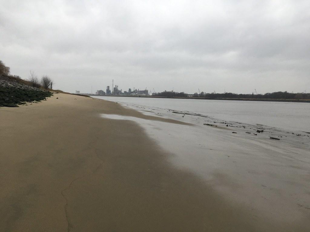 La playa de Amberes