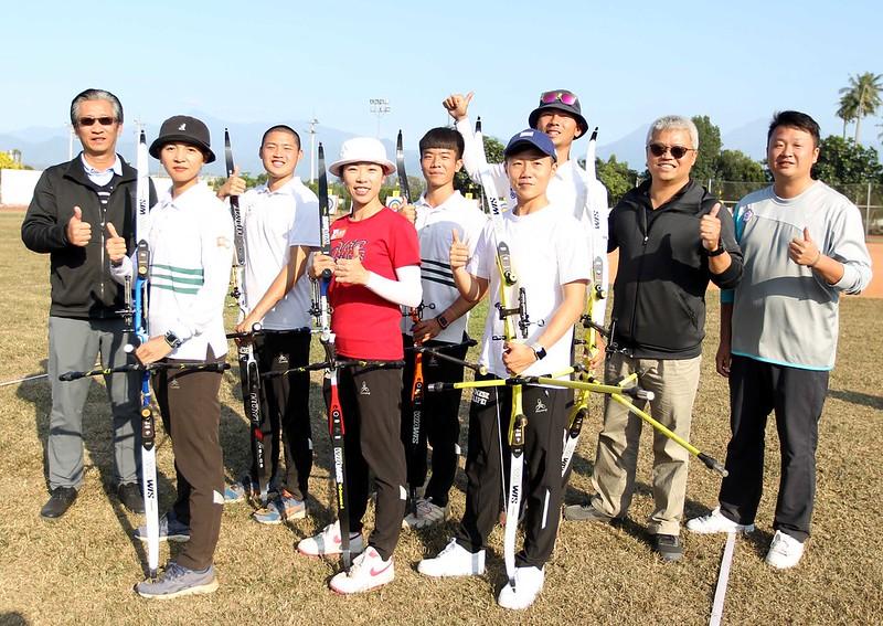 東京奧運射箭代表團。(圖/射箭協會提供)