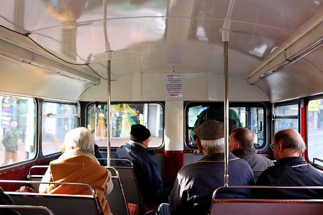 Routemaster into Ipswich