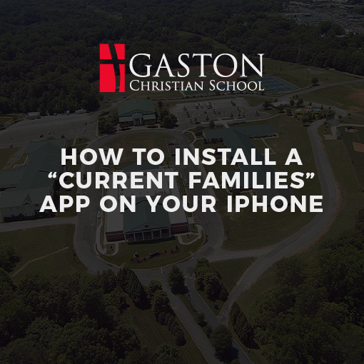 """HOW TO INSTALL A """"CURRENT FAMILIES"""" APP ON YOUR IPHONE"""