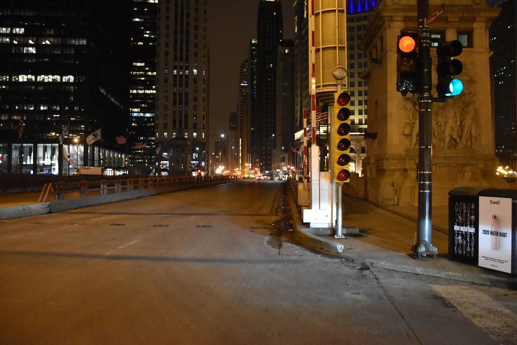 Michigan Ave Bridge- Chicago
