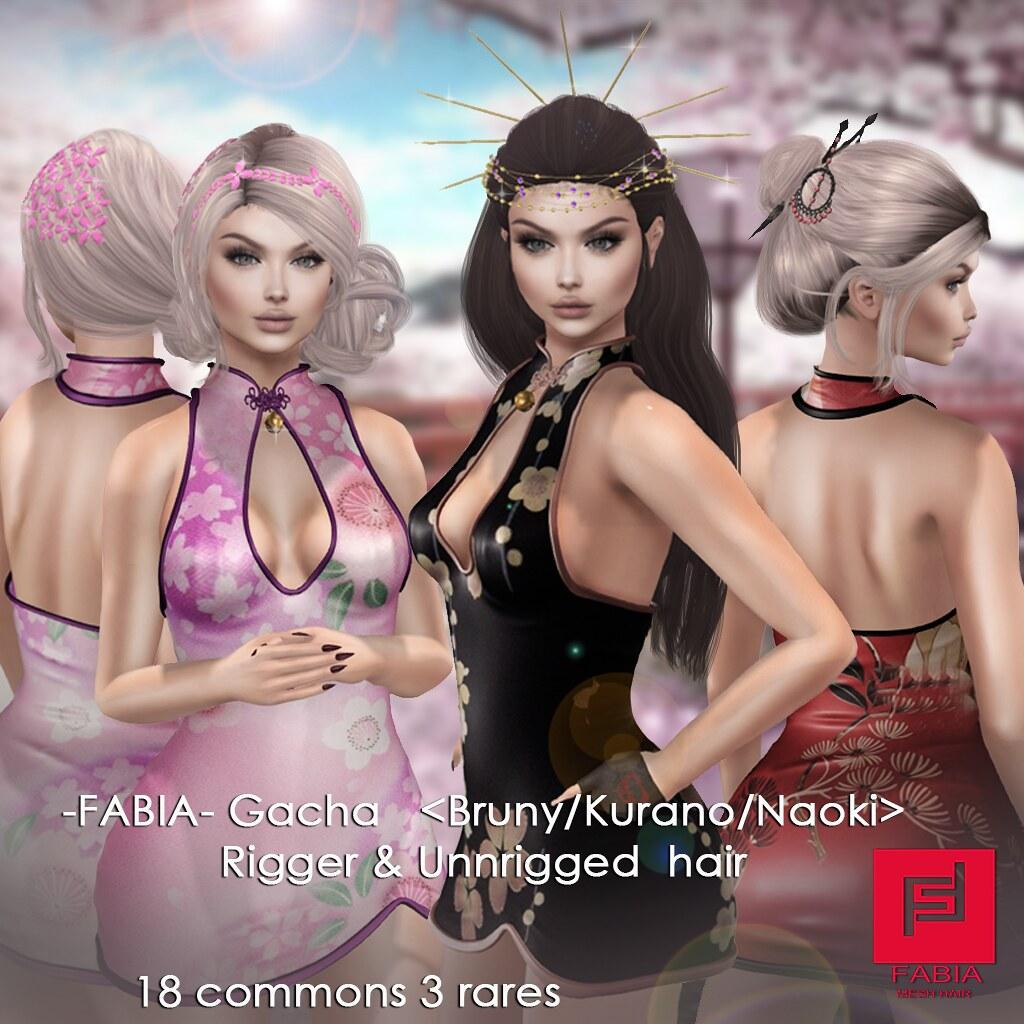 NEW! -FABIA- Gacha   BrunyKuranoNaoki pic