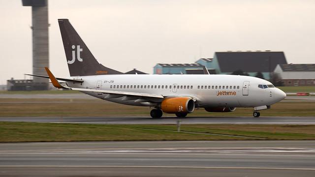 Jet Time Boeing 737-73A OY-JTR