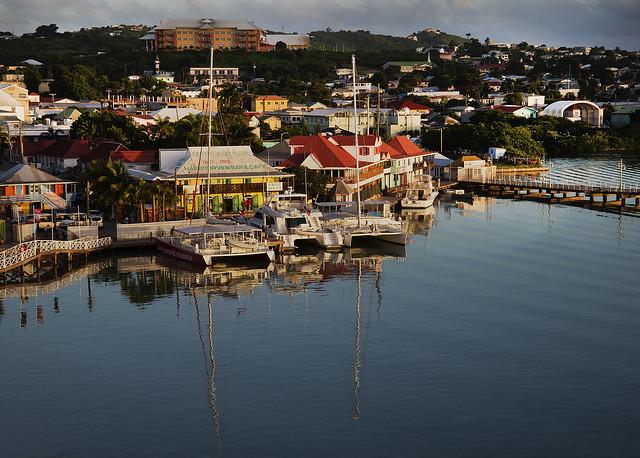 Sunset in St. John's, Antigua